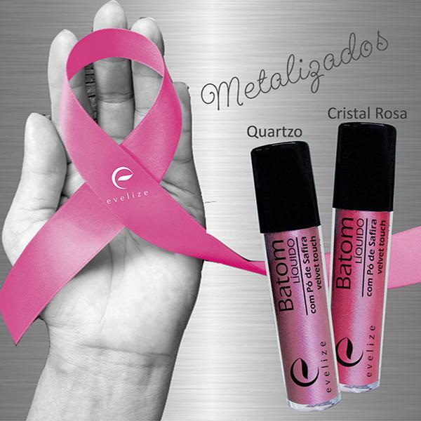 Outubro Rosa: aproveite os batons metalizados para colorir os lábios com estilo